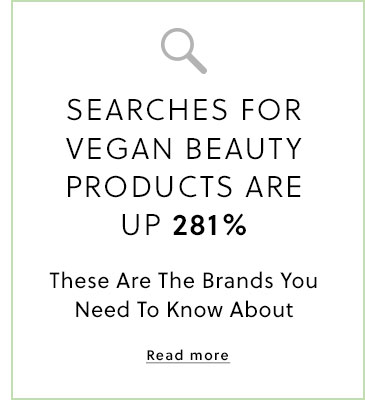 Vegan Beauty Product Searches