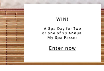 WIN! A Spa Day or My Spa Pass
