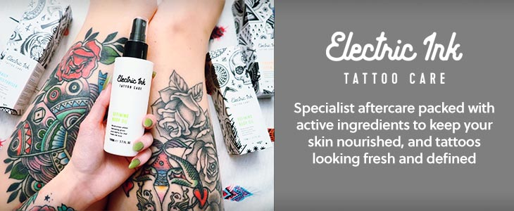 Electric Ink Tattoo Care