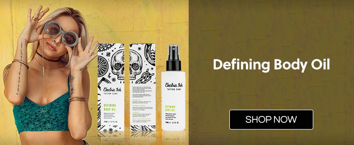 Electric Ink Defining Body Oil