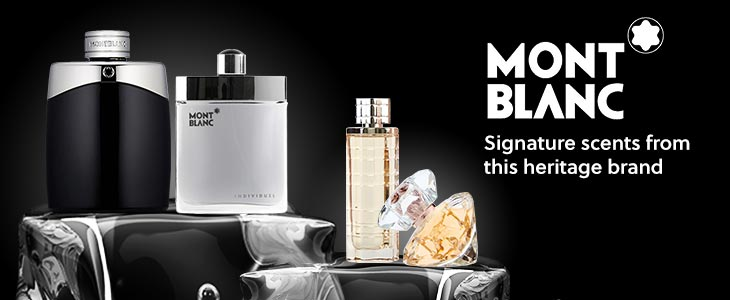 Mont Blanc Signature Scents Heritage Brand