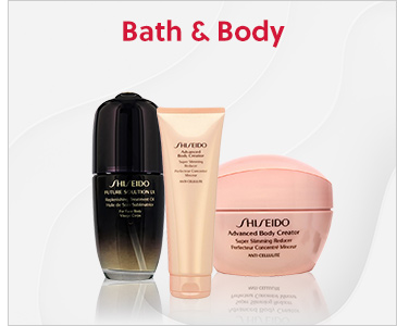 Shiseido Bath & Body