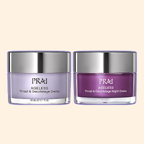 NEW: PRAI Throat & Decolletage Day & Night Duo