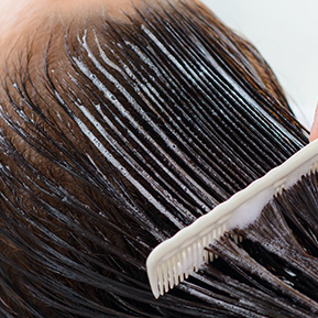 Treatments for frizzy hair