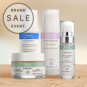 Ren Clean Skincare Brand Sale Event