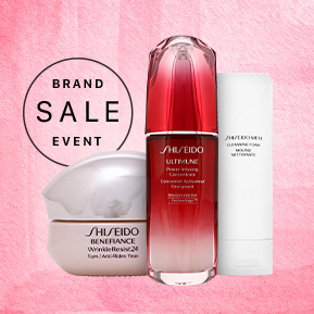 Shiseido Brand Sale Event - Save Up To 45% Off RRP