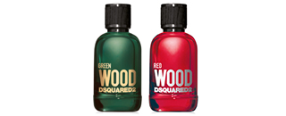Dsquared Red Wood Green Wood
