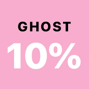 An additional 10% off all Ghost Fragrances