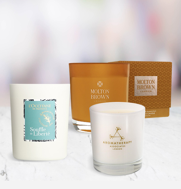 Winter Beauty Candles