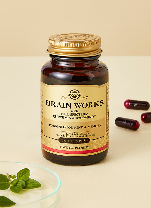 New In: Solgar Brain Works