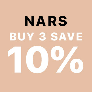 Buy 3 Nars products and Save 10%