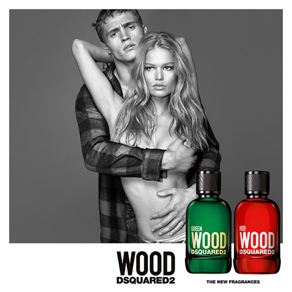 DSquared2 Wood Red & Green