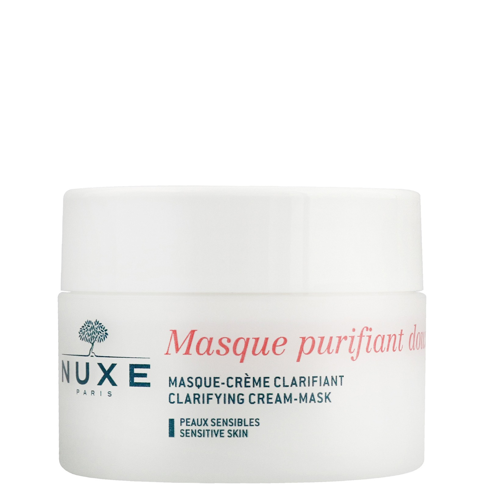 Nuxe Sensitive Skin Clarifying Cream Mask With Rose Petals 50ml