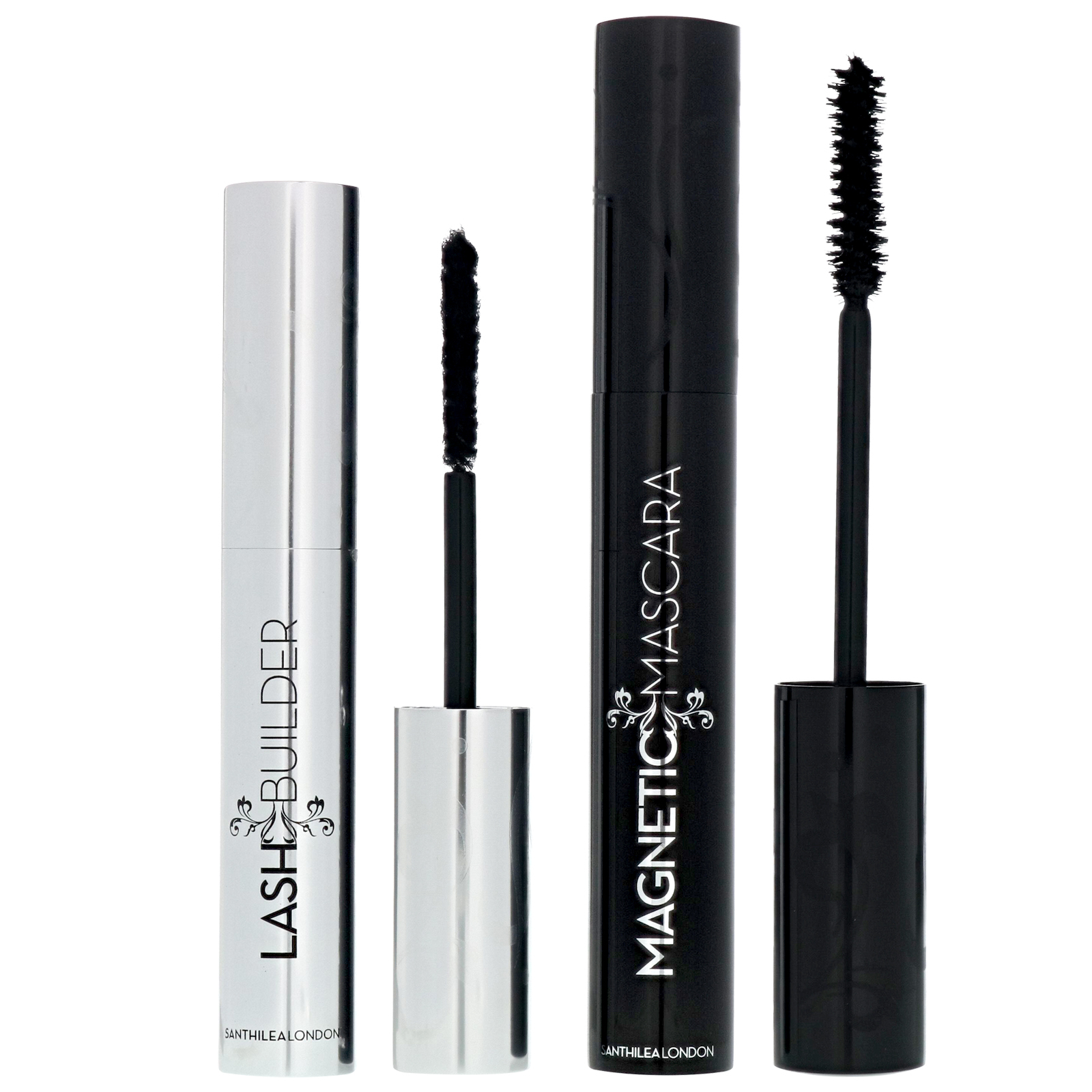 Santhilea Magnetic Lash Mascara 1-2-1 Lash Extension System Mascara Set Black Velvet