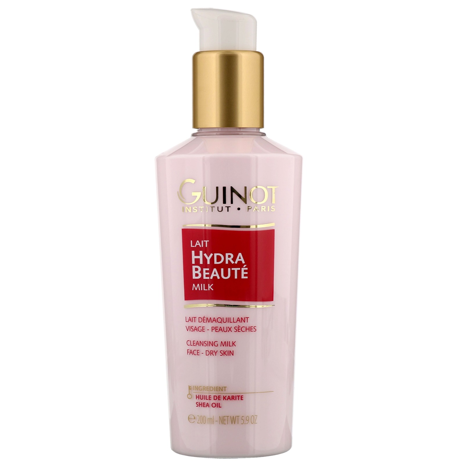 Guinot Make-Up Removal / Cleansing Lait Hydra Beauté Comforting Cleansing Milk Dry Skin 200ml / 5.9 oz.