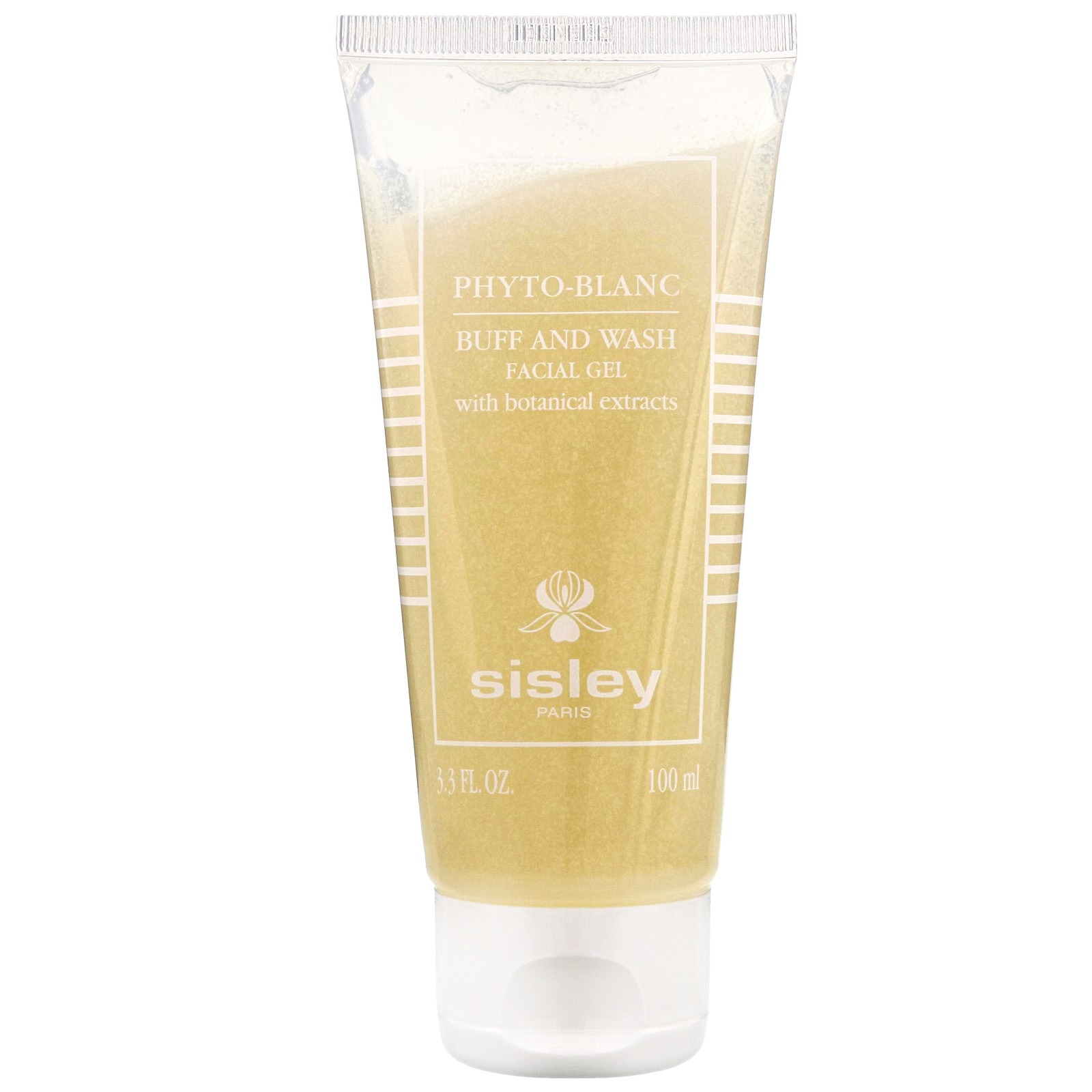 Sisley Cleansers Phyto-Blanc Buff and Wash Facial Gel 100ml