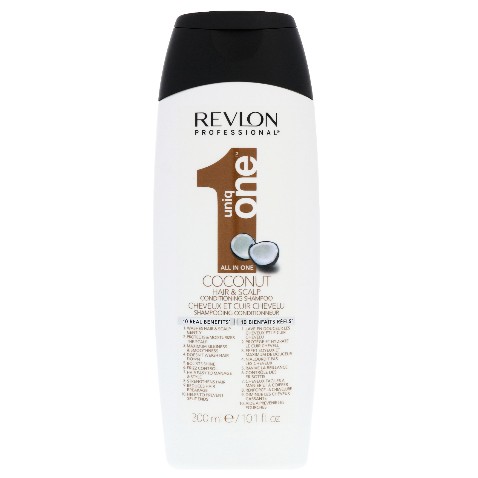 Revlon Professional Uniq One Coconut Conditioning Hair & Scalp Shampoo 300ml