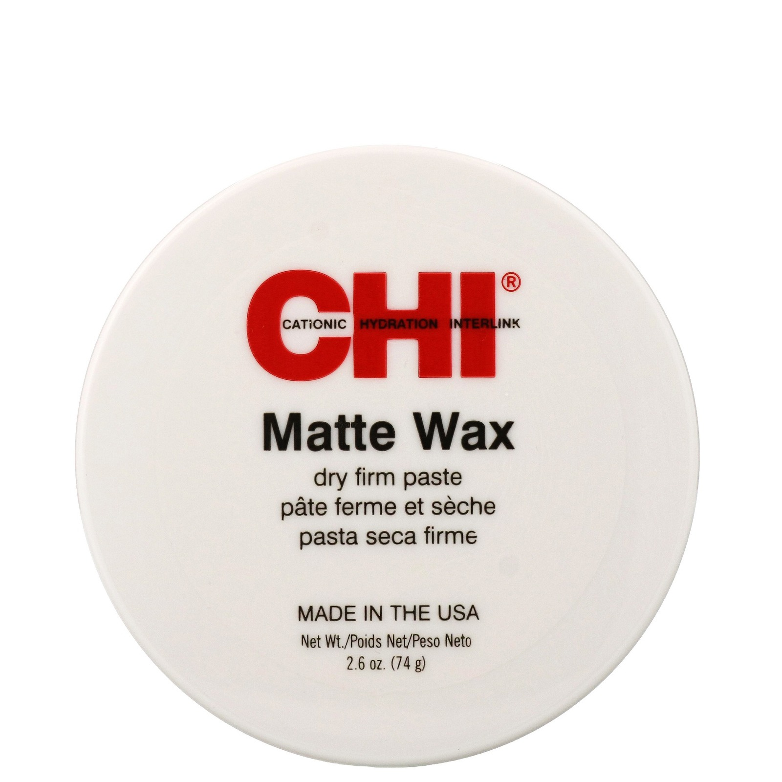 CHI Set. Style. Finish. Matte Wax Dry Firm Paste 74g