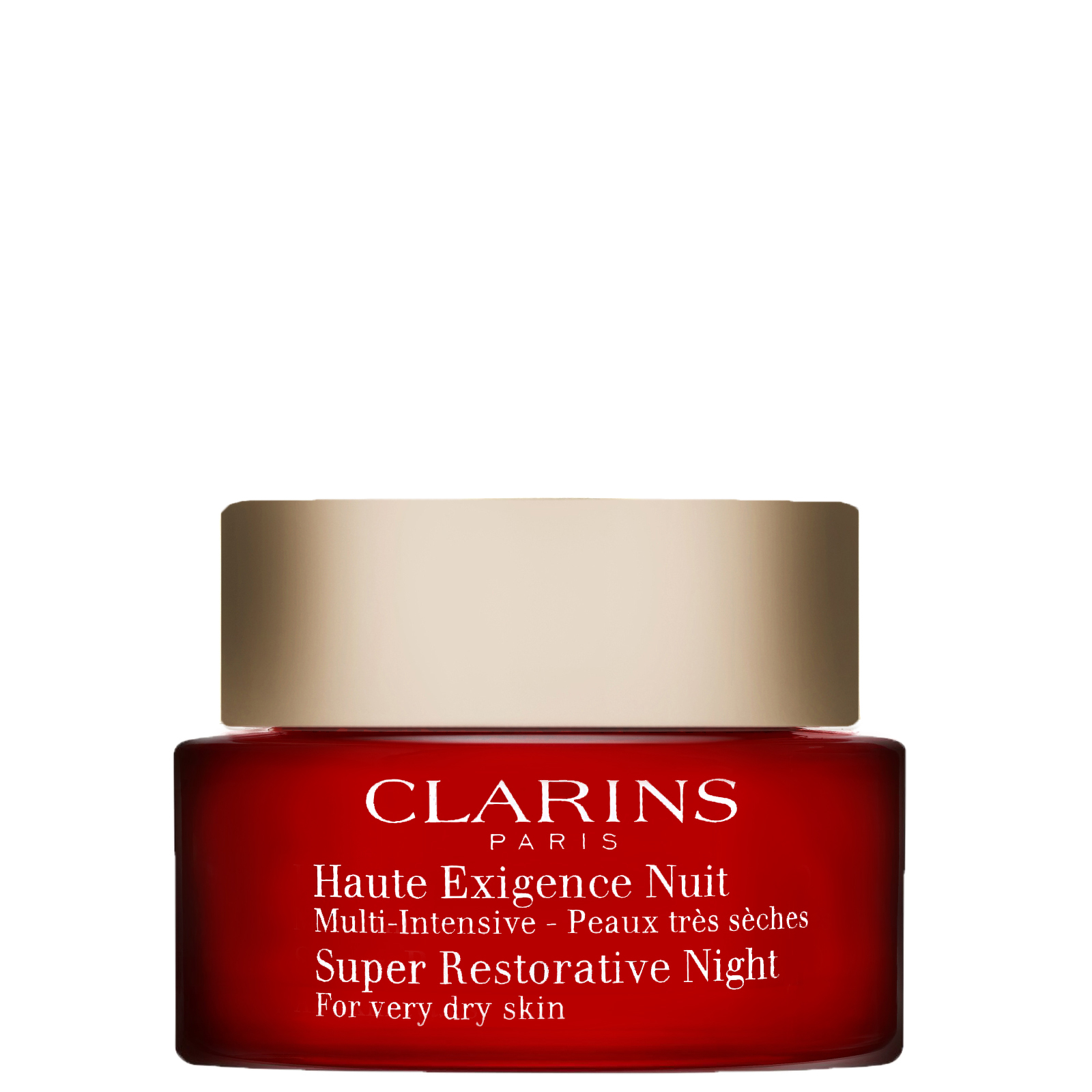Clarins Super Restorative Night Age Cream For Very Dry Skin 50ml / 1.6 oz.