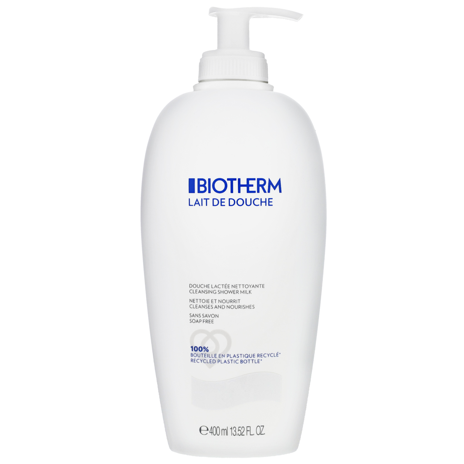 Biotherm Lait Corporel Lait De Douche Cleansing Shower Milk 400ml