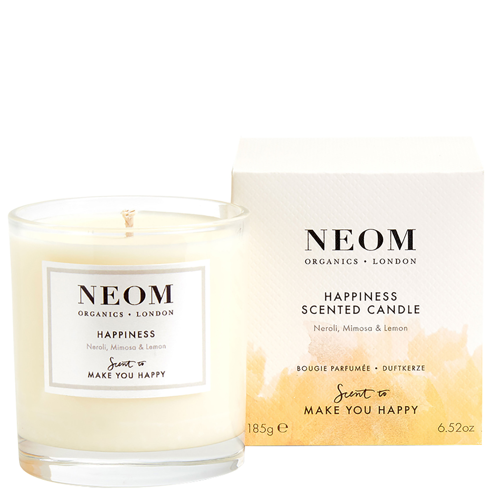 Neom Organics London Scent To Make You Happy Happiness Scented Candle (1 Wick) 185g