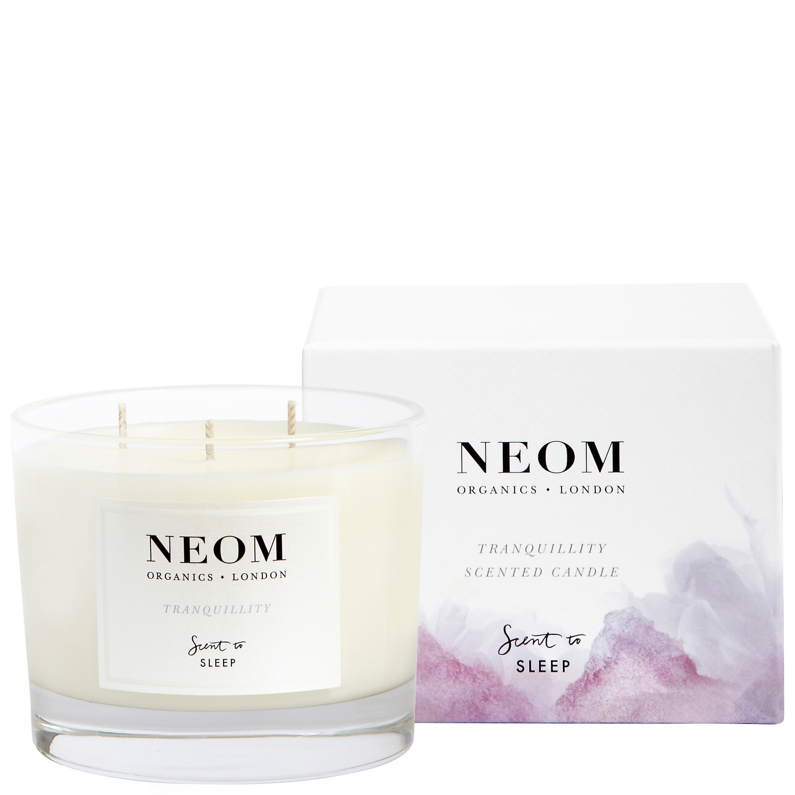 Neom Organics London Scent To Sleep Tranquillity Scented Candle (3 Wick) 420g