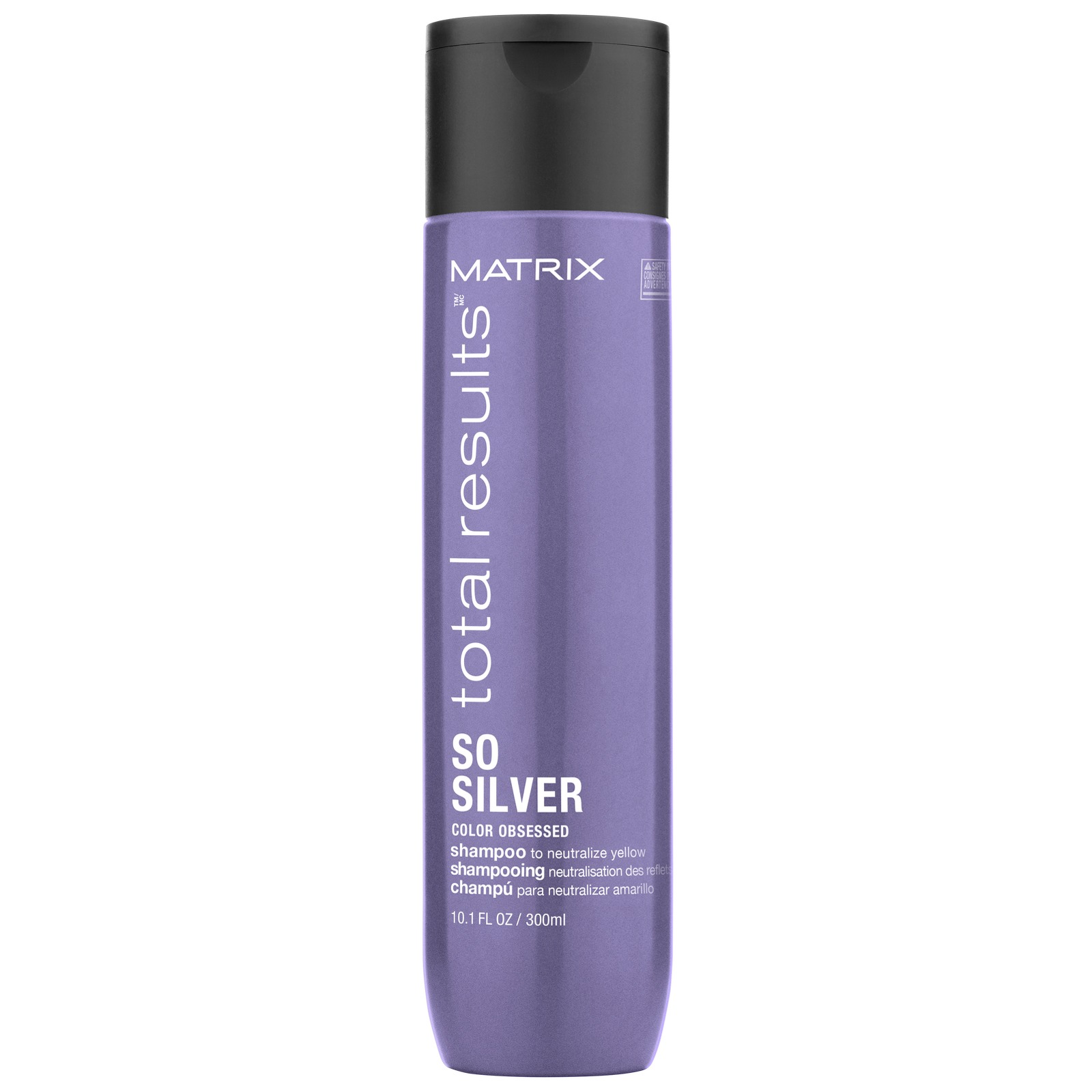 Matrix Total Results Color Obsessed So Silver Shampoo to Rid Yellow Tone in Blonde Hair 300ml