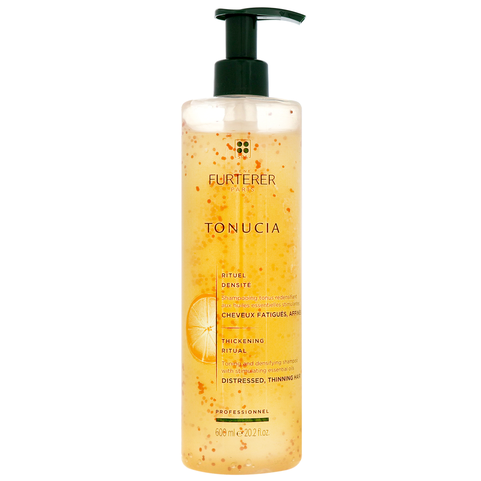 Rene Furterer Tonucia Thickening Ritual: Toning and Densifying Shampoo 600ml