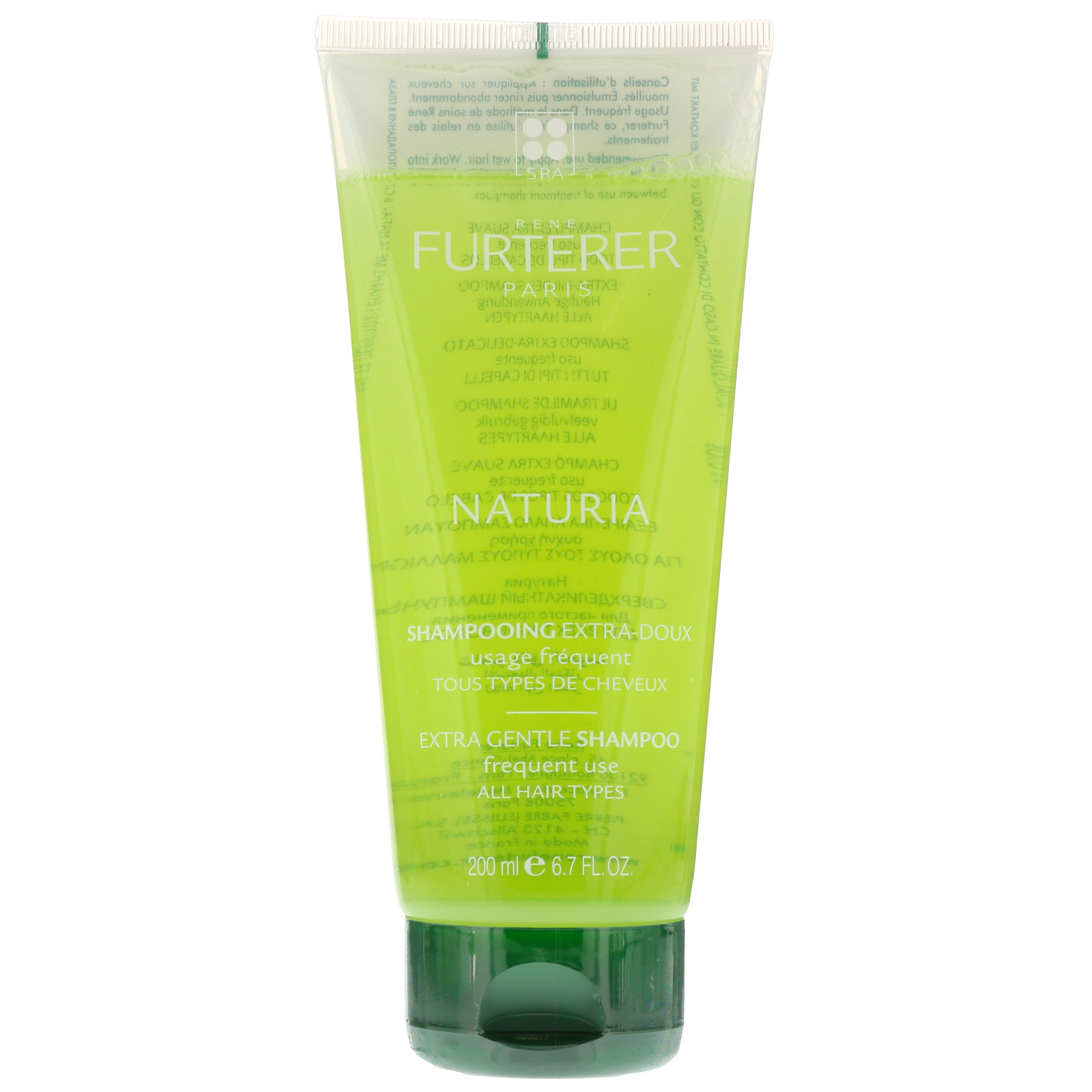 Rene Furterer Naturia Extra Gentle Shampoo For All Hair Types 200ml / 6.7 fl.oz.