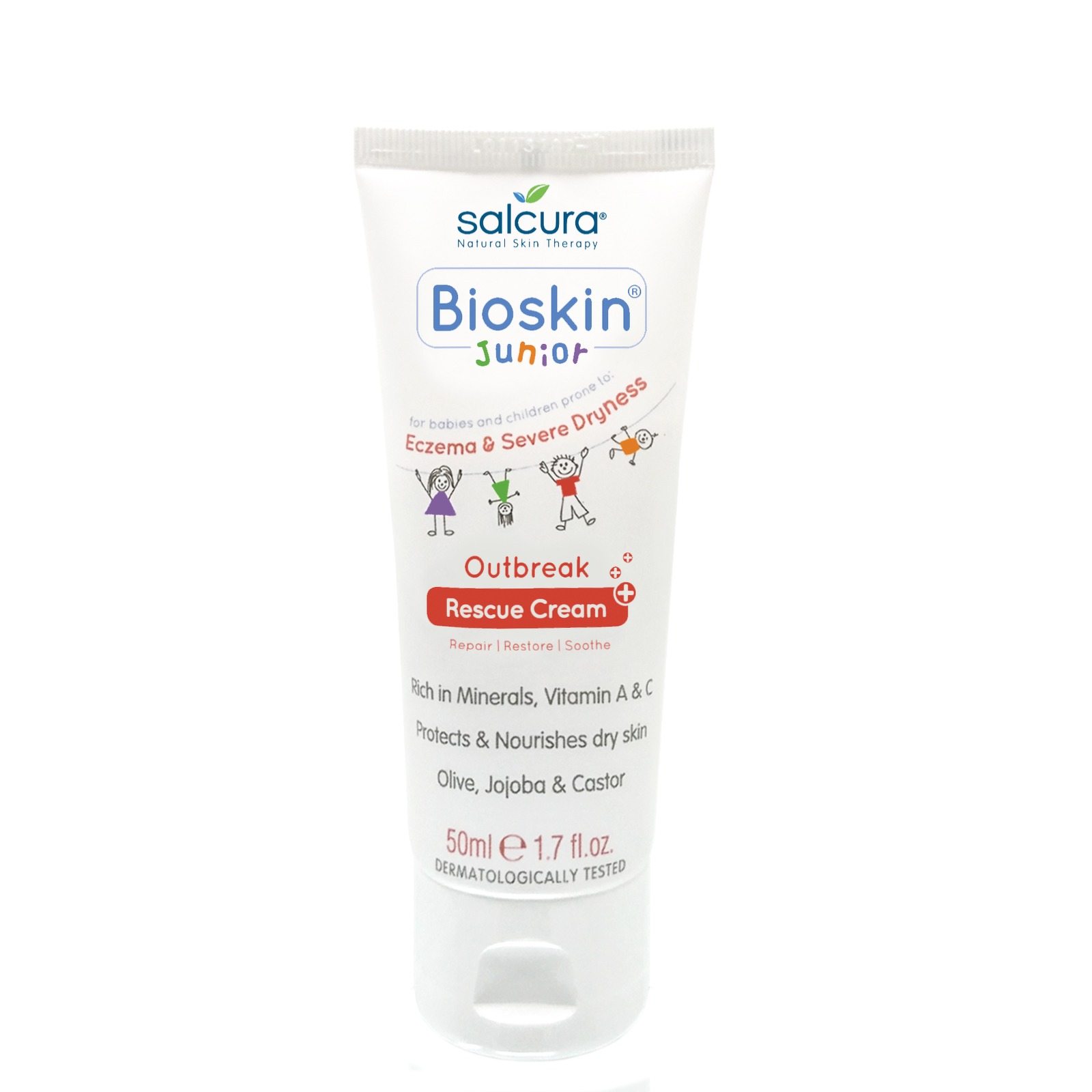 Salcura Bioskin Junior Outbreak Rescue Cream 50ml