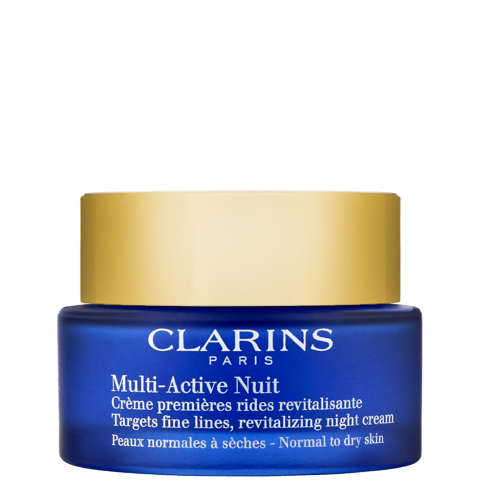 3 Pack - Clarins Multi-Active Night Cream Normal to Dry Skin 1.6 oz Jason All Natural Quick Clean Make-Up Remover Pads - 75 Ea, 2 Pack