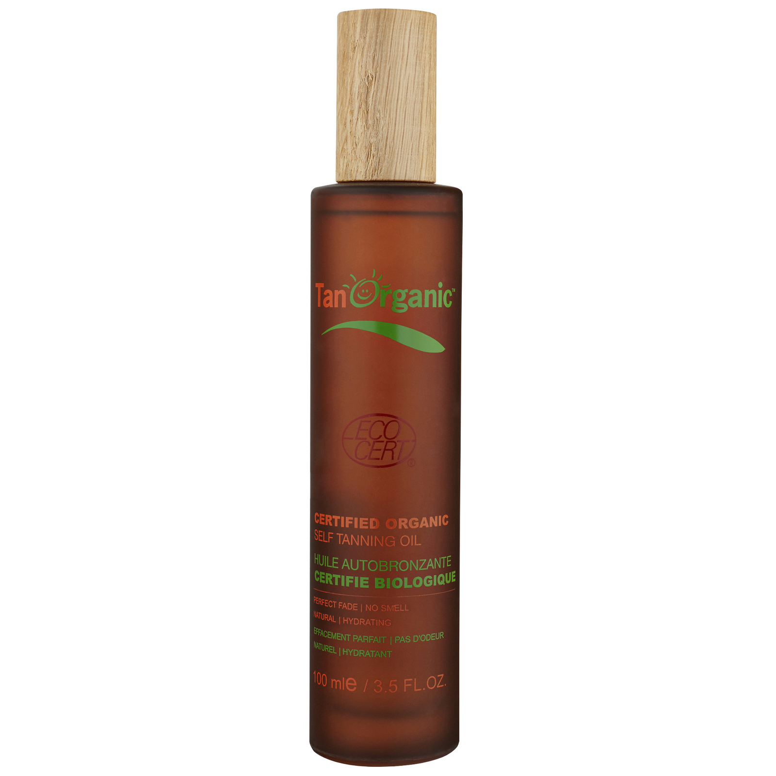 Tan Organic Self Tanning Certified Organic Oil 100ml