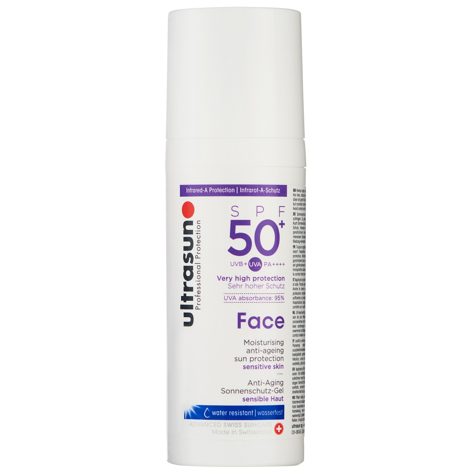 Ultrasun Face  Anti-Ageing Sun Protection For Sensitive Skin SPF50+ 50ml