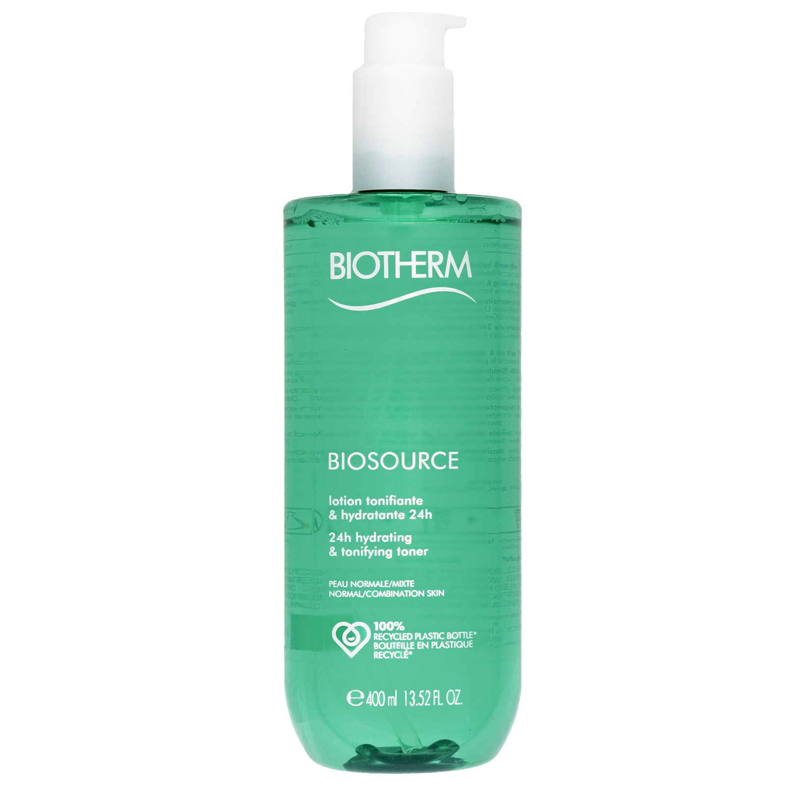 Biotherm Biosource 24h Hydrating and Tonifying Toner For Normal/ Combination Skin 400ml
