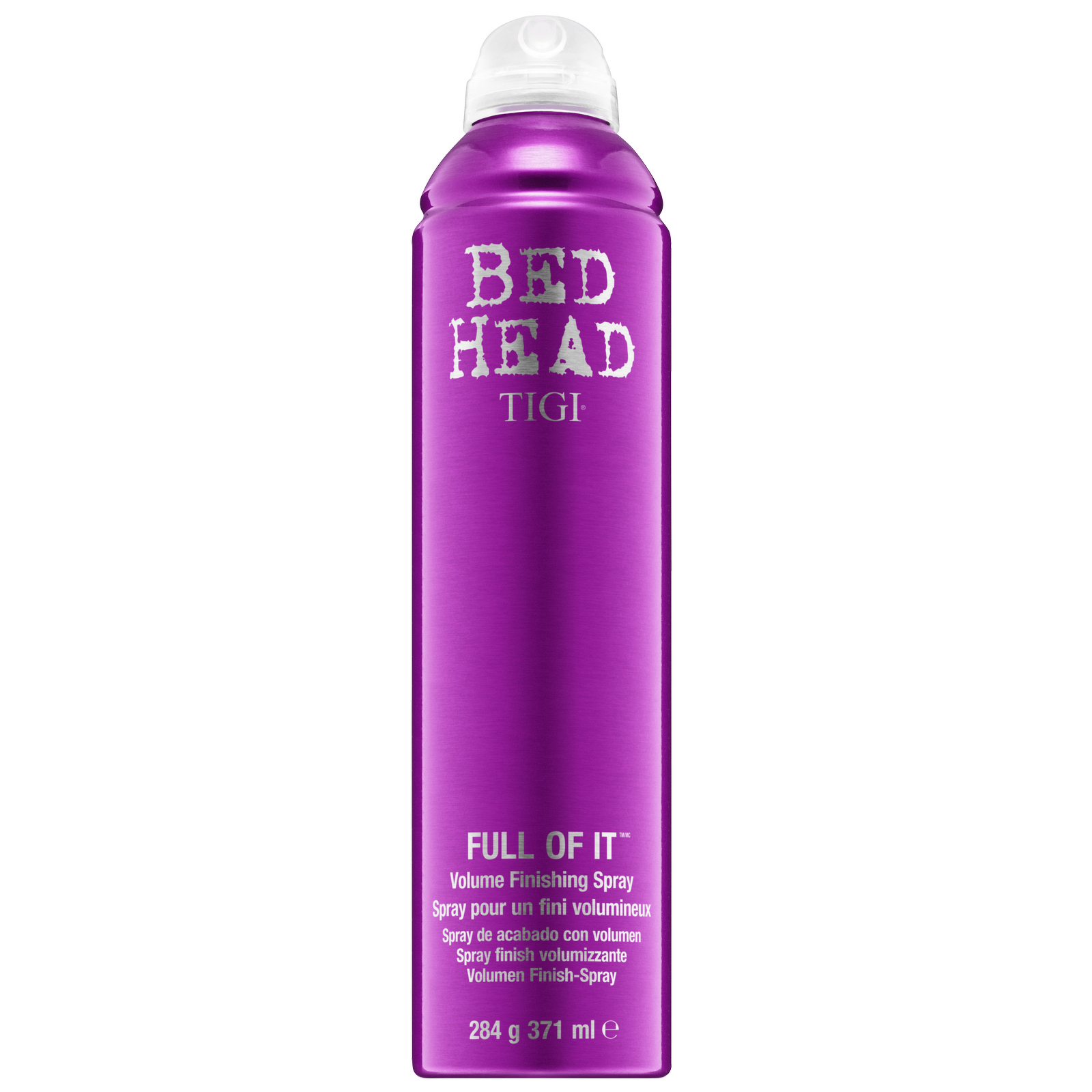 TIGI Bed Head Full Of It Volume Hairspray for Firm Hold 371ml