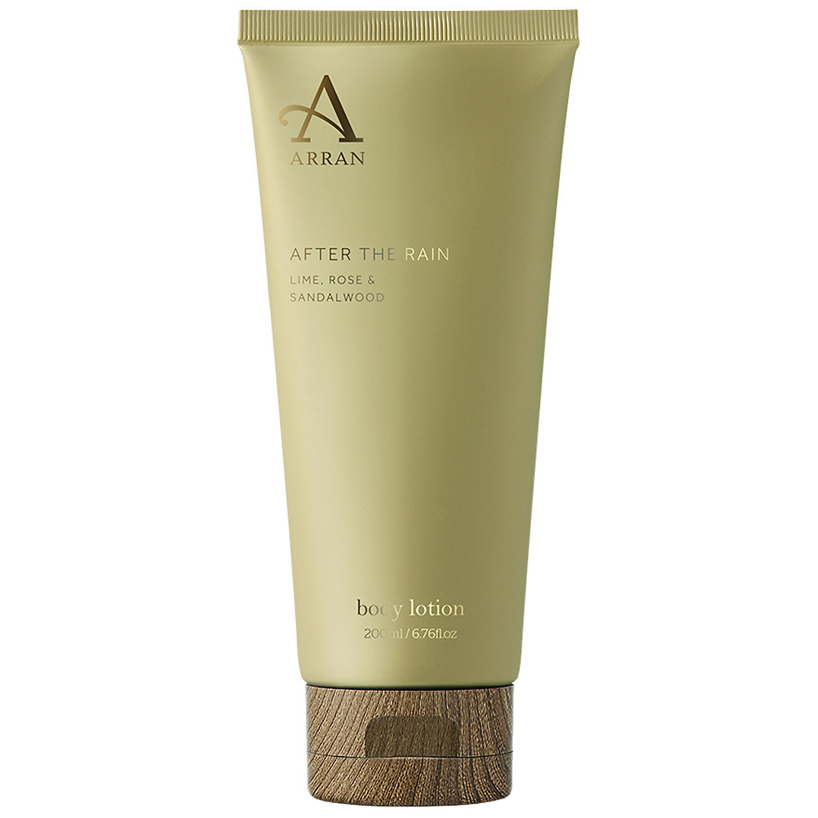 ARRAN Sense of Scotland After The Rain - Lime, Rose, & Sandalwood Body Lotion 200ml