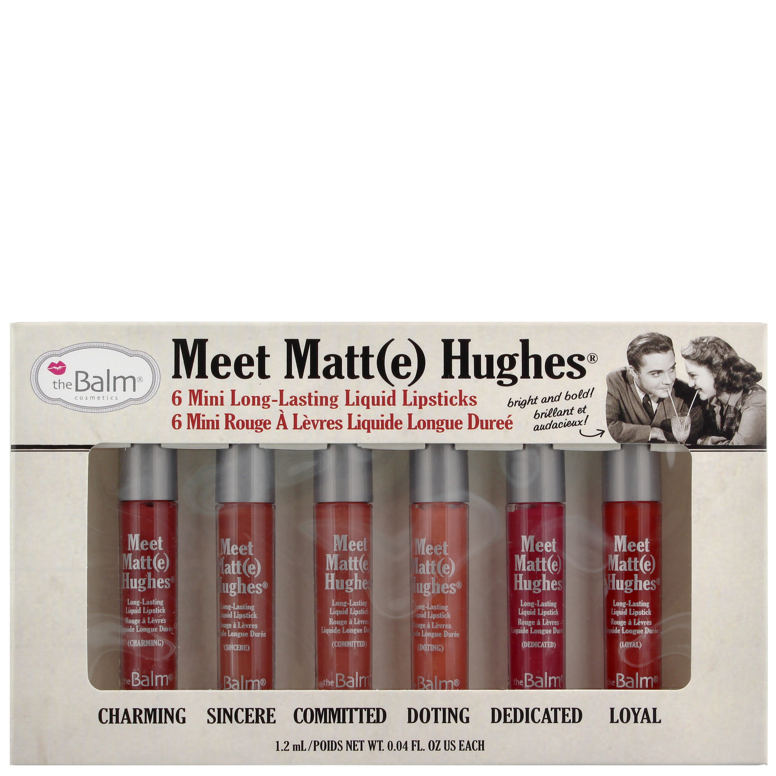 theBalm Cosmetics Lips Meet Matt(e) Hughes: Bright and Bold Set