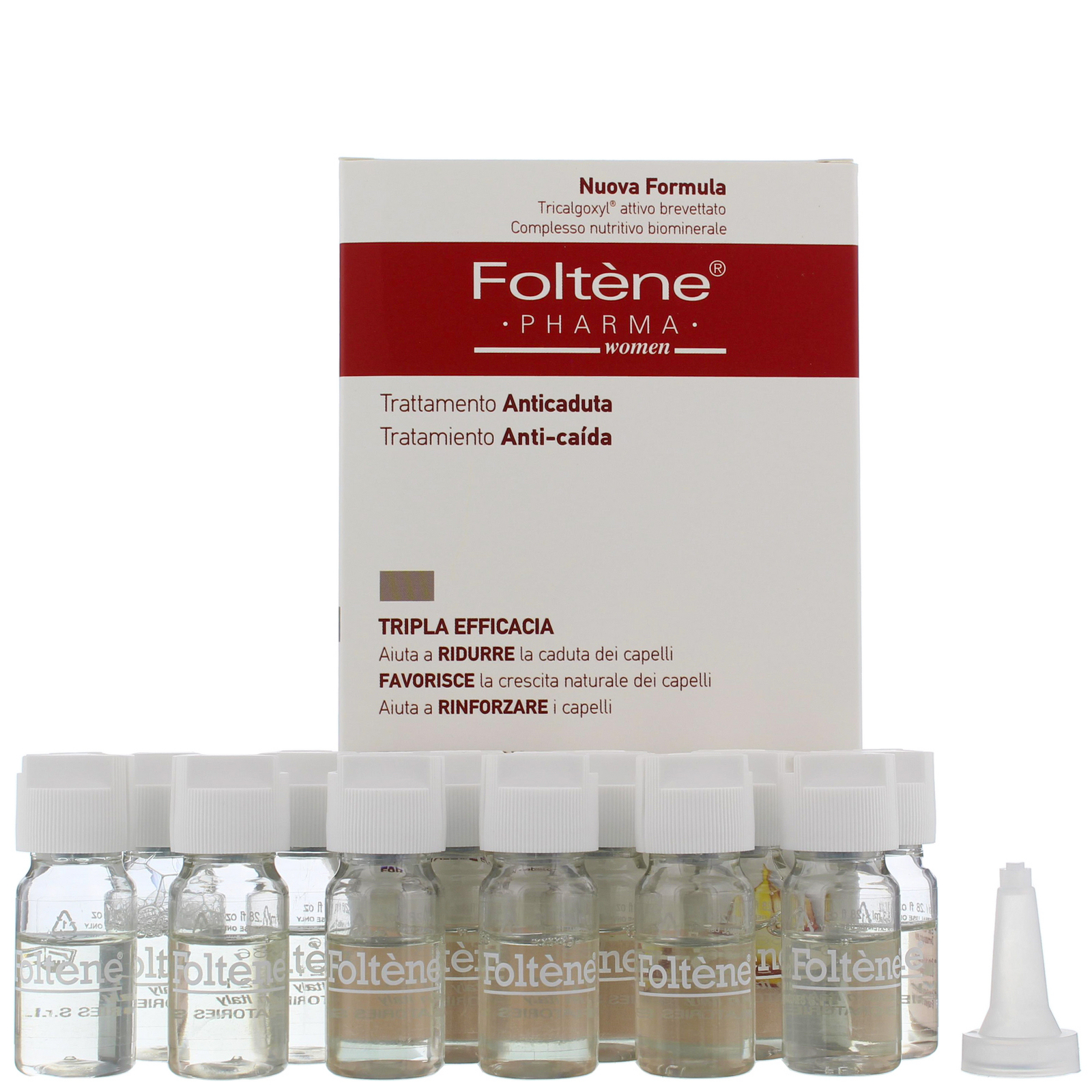 Foltène Anti-Hair Loss Solutions for Women Hair and Scalp Treatment 100ml