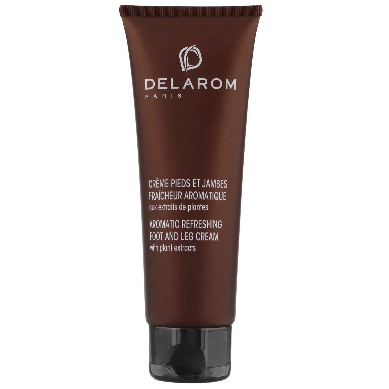 DELAROM Body & Well-Being Aromatic Refreshing Foot and Leg Cream 125ml