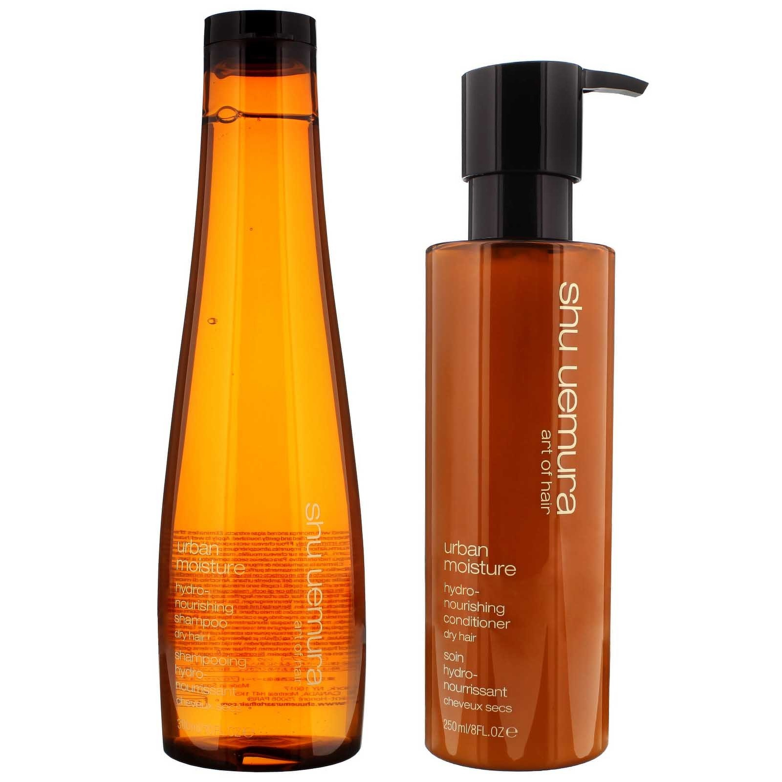 Shu Uemura Art of Hair Urban Moisture Duo Set: Hydro-Nourishing Shampoo 300ml & Conditioner 250ml