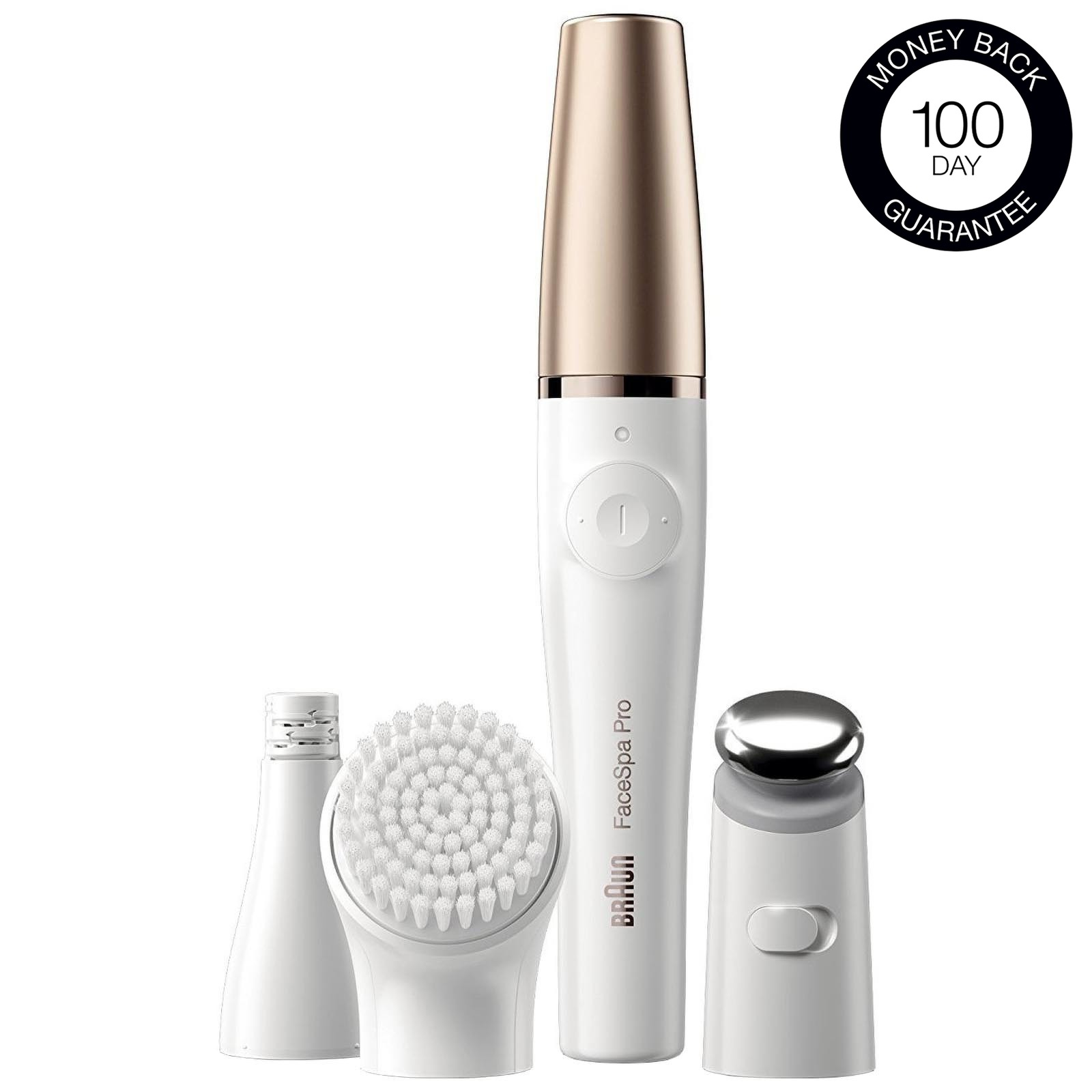 Braun FaceSpa Pro 911 FaceSpa Pro 3 in 1 Facial, Cleansing and Epilator
