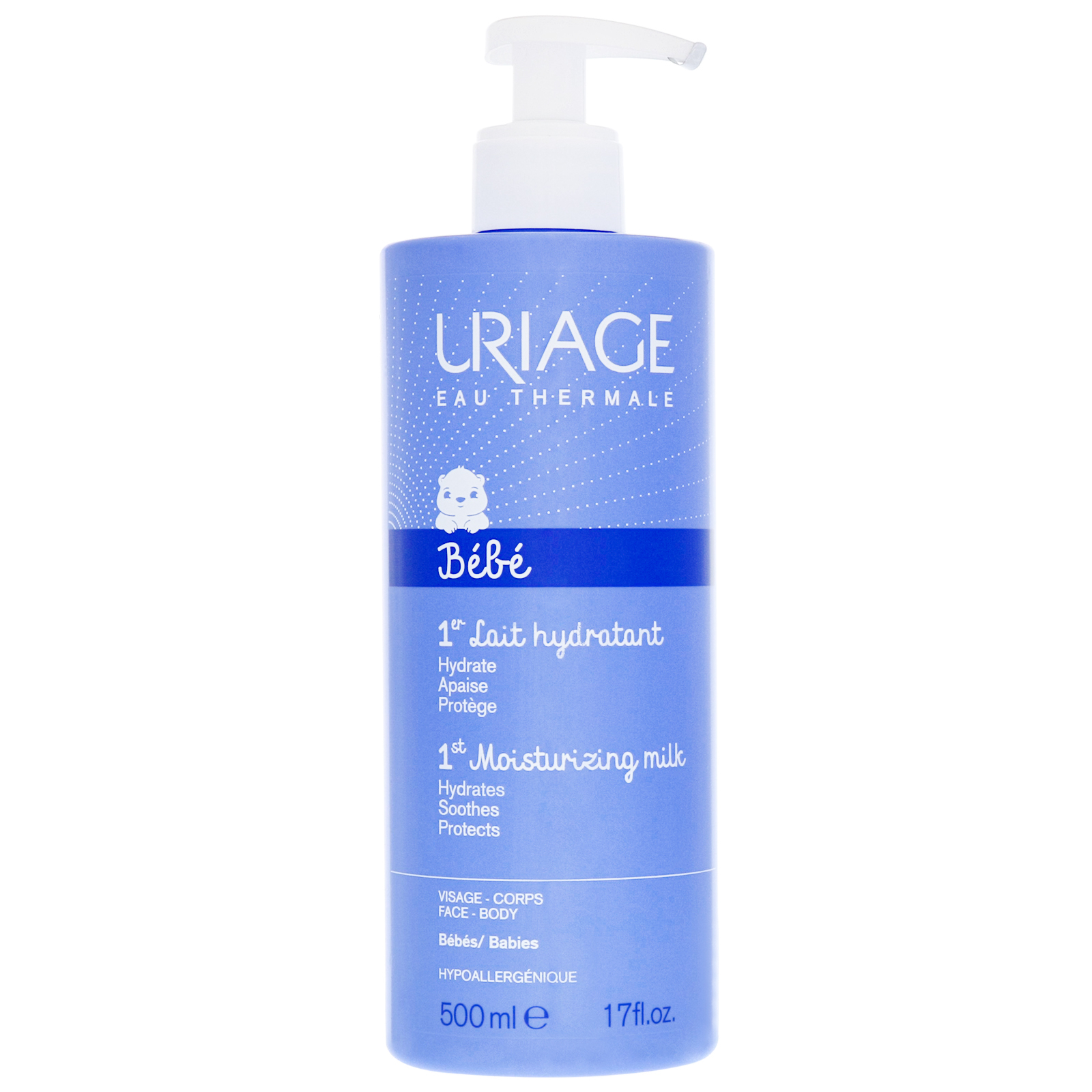 Uriage Eau Thermale Baby's 1st Skin Care 1st Moisturizing Milk 500ml