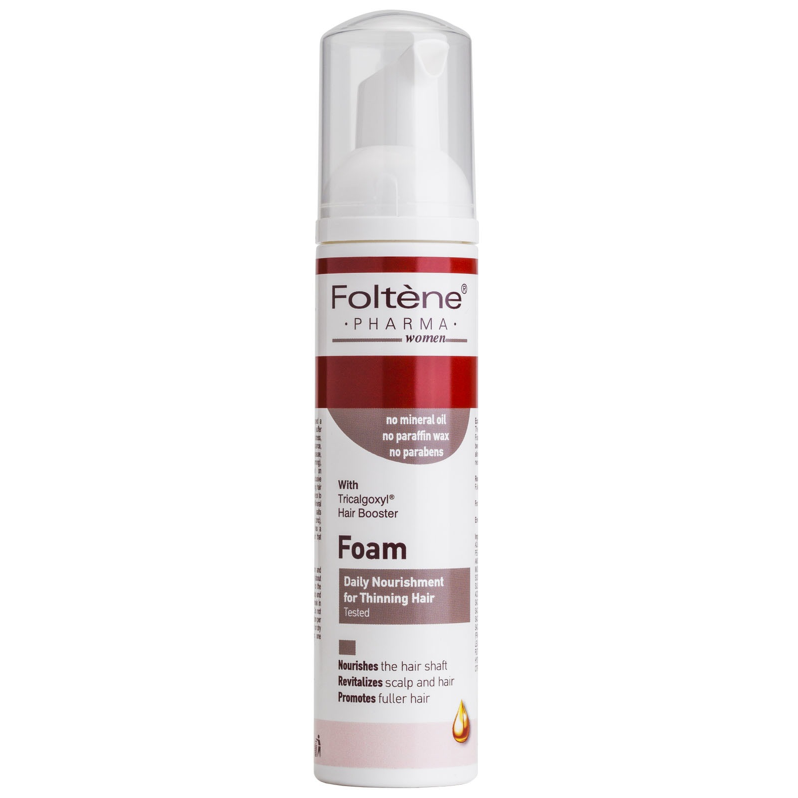 Foltène Anti-Hair Loss Solutions for Women Daily Nourishment Foam 70ml
