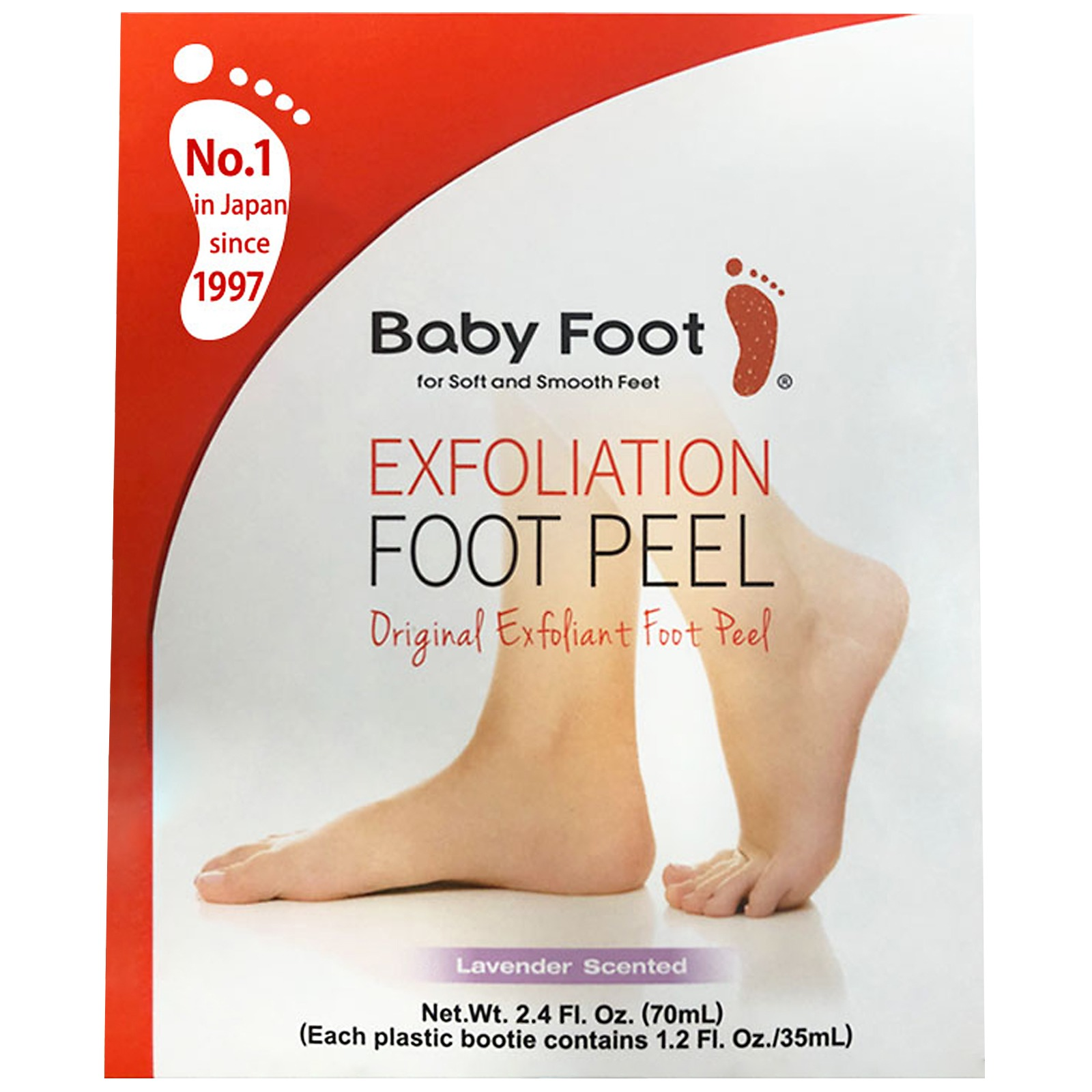 Baby Foot Treatment Exfoliation Foot Peel