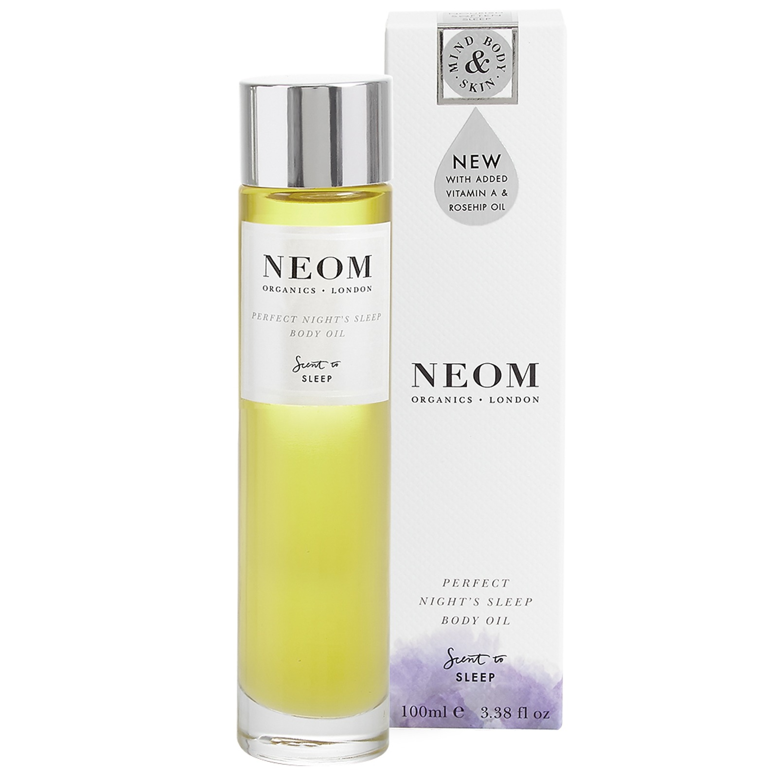 Neom Organics London Scent To Sleep Perfect Night's Sleep Body Oil 100ml