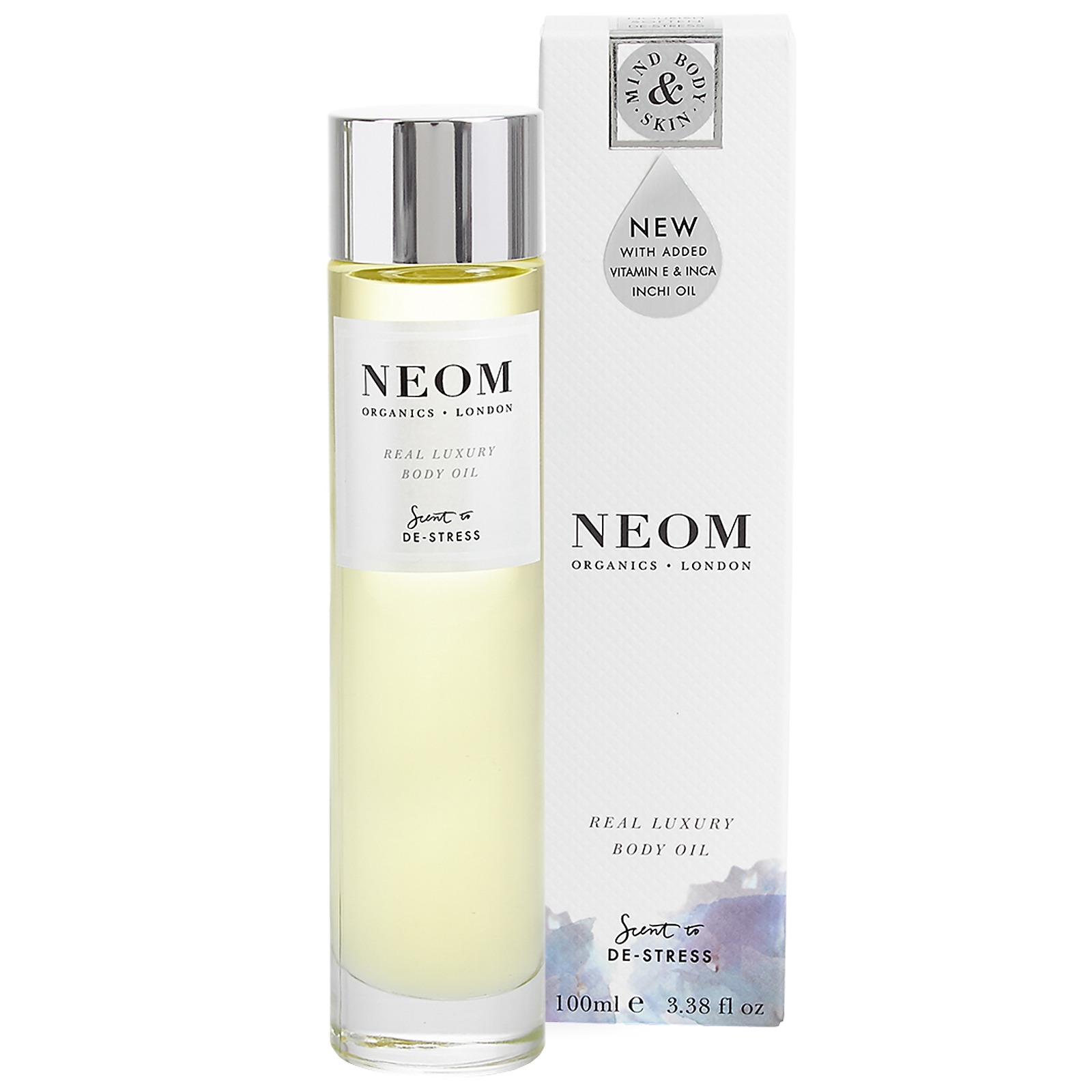 Neom Organics London Scent To De-Stress Real Luxury Body Oil 100ml