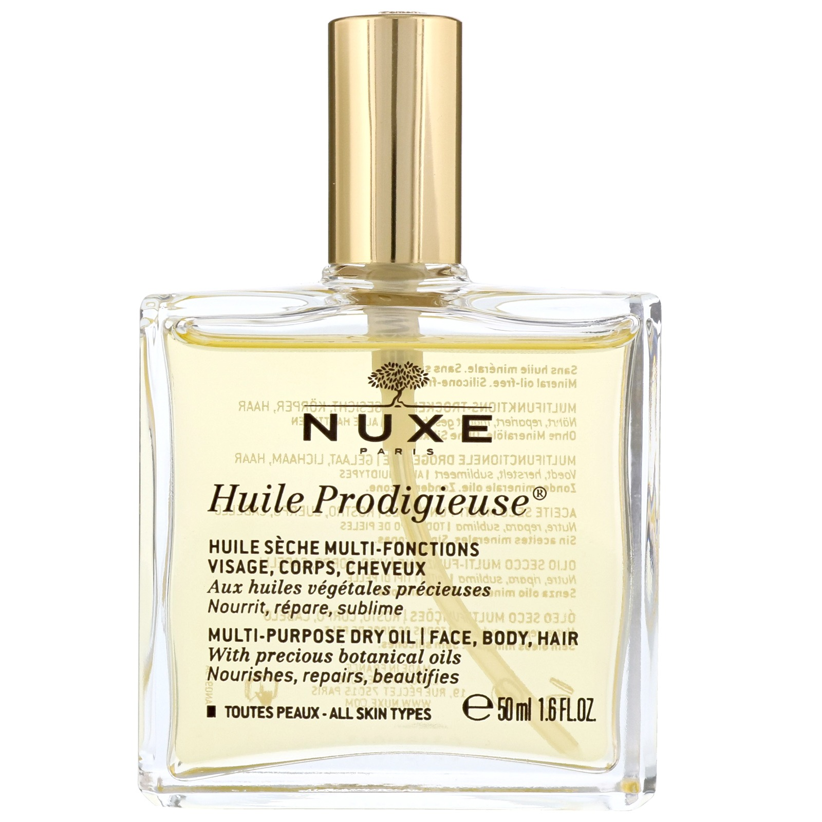 Nuxe Huile Prodigieuse Multi-Purpose Dry Oil Spray 50ml