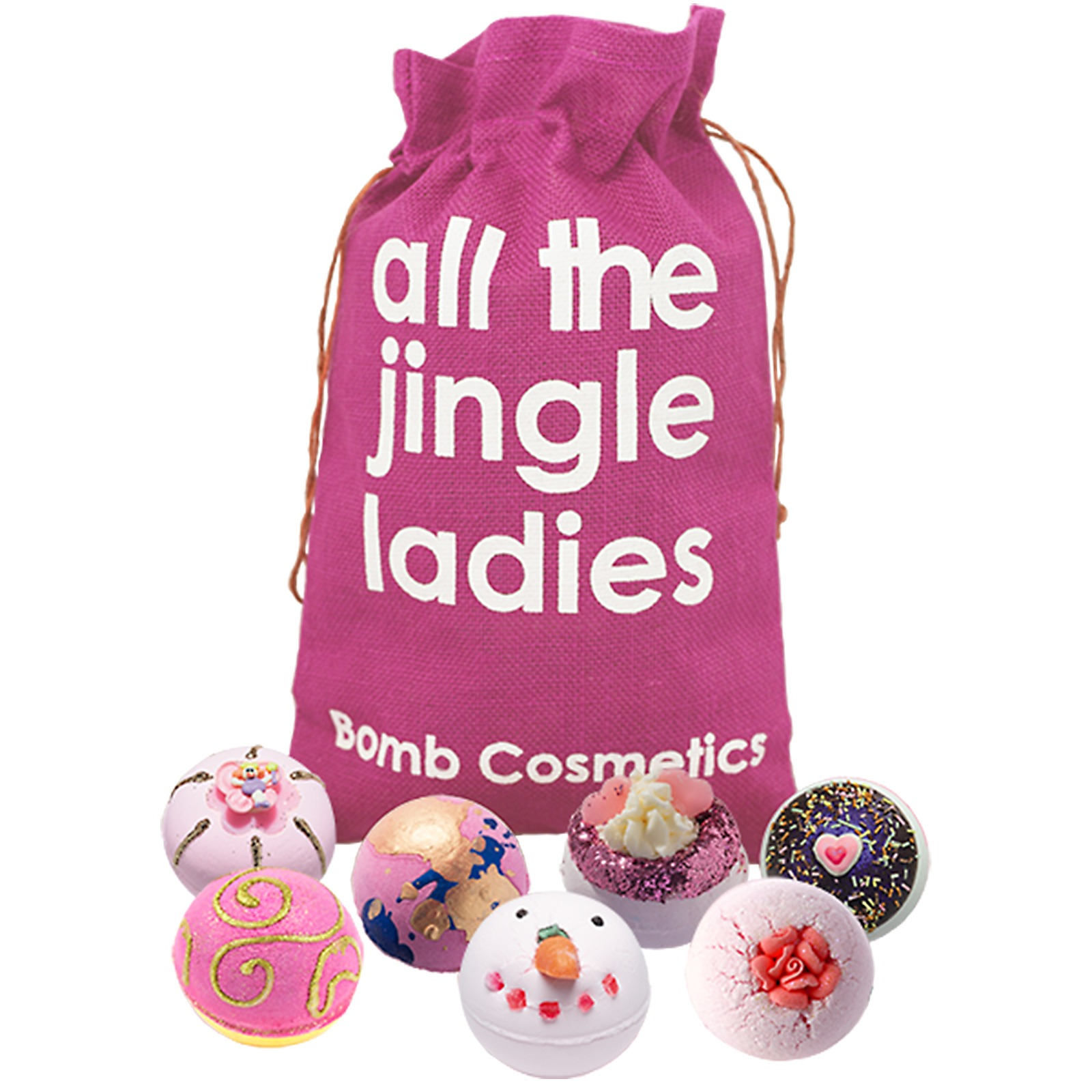 Bomb Cosmetics Christmas 2019 All the Jingle Ladies