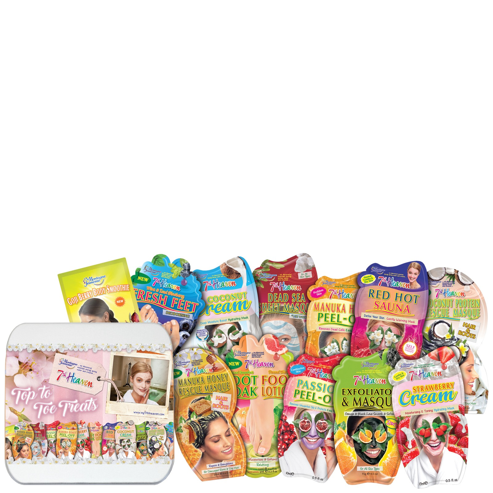 7th Heaven Gift Sets Top to Toe Treats