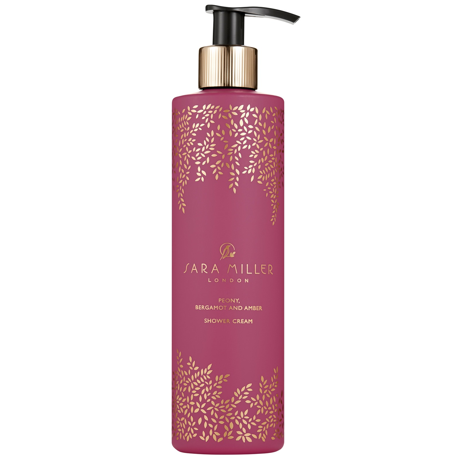 SARA MILLER Cleansers Peony, Bergamot and Amber Shower Cream 300ml